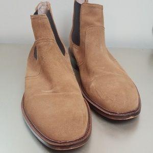 Banana Republic Ortholite leather boots sz 10